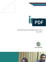 IPMX - IIM Lucknow Placement Brochure 2011-12