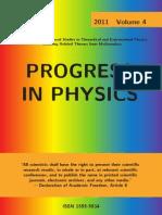 Progress in Physics, Vol. 4, 2011