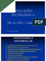 TECNOLOGÍA 1 UNIDAD1