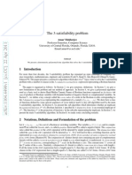 The 3-satisfiability problem