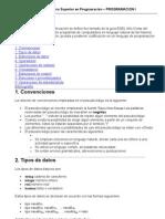 TSP - Programación I - Pseudocódigo - UTN FRVT