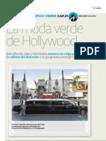 Los Angeles II, portadilla Hollywood se apunta a la moda verde