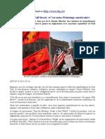 Contestation contre Wall Street - C'est notre Printemps américain - 07-10-2011