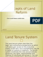 Concepts of Land Reform (2)