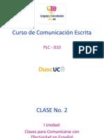 Comunicacion Esctita - Clase 2
