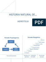 Historia Natural de La Hepatitis