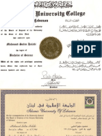 Certificates - Mahmoud Halabi