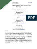 10_bernard_segmentation in Manufacturing and Service Idustry-updated Edited Final