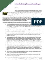 Surat Edaran Dirjend Minerba Tentang Perizinan an Minerba - Sumbawanews