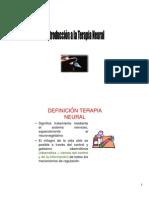 01 Introduccion a La Terapia Neural