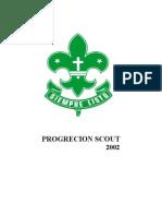 PROGRECION SCOUT