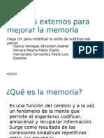 Factores Externos Para Mejorar La Memoria