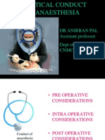 Conduct of Anaesthesia