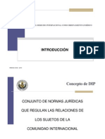 1. Derecho internacional como ordenamiento jurídico