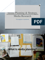 Media Planning, Strategy and Research