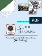 Workshop Study Guide-cyber Terrorism