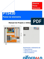 Painel de telemetria PT5430