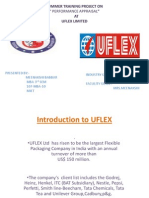 Performance Appraisal at UFLEX Ltd.