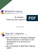 Reflective Inquiry