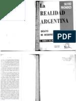 Frondizi, Silvio - La realidad argentina