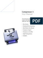Compressor User Manual