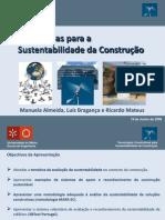 ApresentacaoProfLuisBraganca - Eficiencia na construção