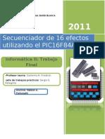 Trabajo Final Informática II - Secuenciador de 16 efectos