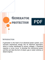 Generator Protection