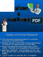 Ethical Issues Animals