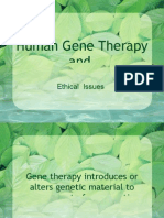 Ethics Report Gene Therapy