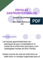 FÍSTULAS GASTROINTESTINALES