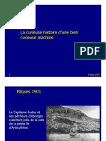 La curieuse histoire d'une bien curieuse machine - Antikythera
