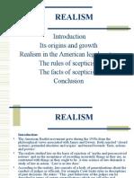 Realism- Jurisprudence I