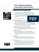 Wireless Learning Summary