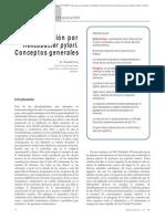 01.010 Infección por Helicobacter pylori. Conceptos generales