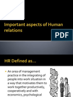 Important Aspects of HR