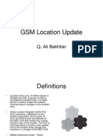 GSM Location Update