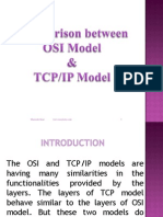 Comparison Between Osi Tcpip Model