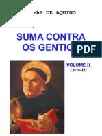 suma contra os gentios volume II livro III