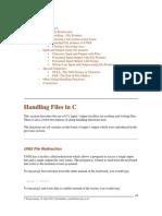 Handling Files in C
