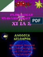 Kelompok m. Irhamna Xi Ia 2 (Persentasi Pkn)