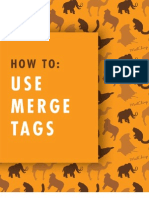 How to Use Merge Tags