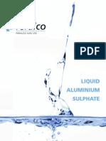 Feralco Liquid Aluminium Sulphate Brochure