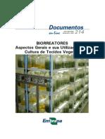 biorreatores na micropropagação de plantas