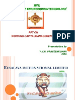 Kusalava International Limited SRI