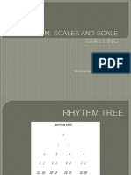 L2 Rhythm and Scale Spelling