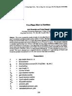 Dukler's 2 Phase Friciotn Factor Correlation