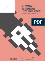 PROGRAMA XIX Festival Internacional de Poesía de Rosario
