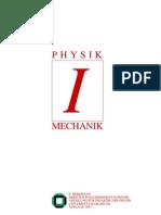 Experimentalphysik I  - Mechanik