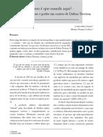 Artigo Meu e Da Mariana, Publicado Na Revista Interfaces